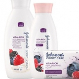 Johnson's® Vita-Rich Body Care Range